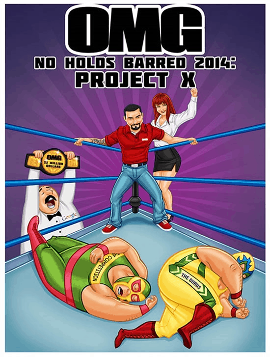 OMG Machines No Holds Barred 2014 Project X