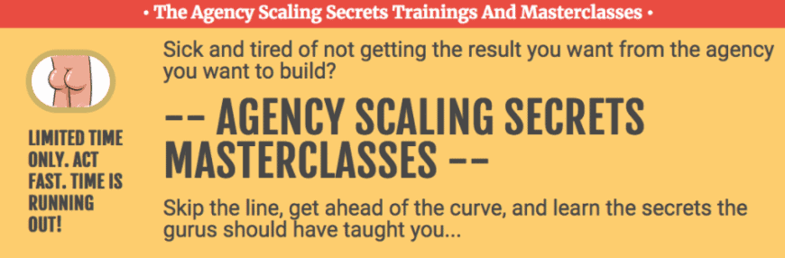 Jeff Millers – Agency Scaling Secret and Masterclass