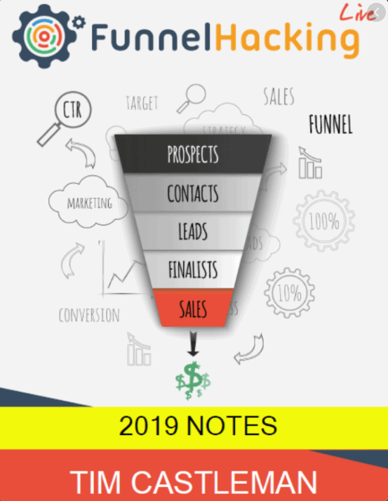 Russell Brunson - Funnel Hacking LIve Notes 2019