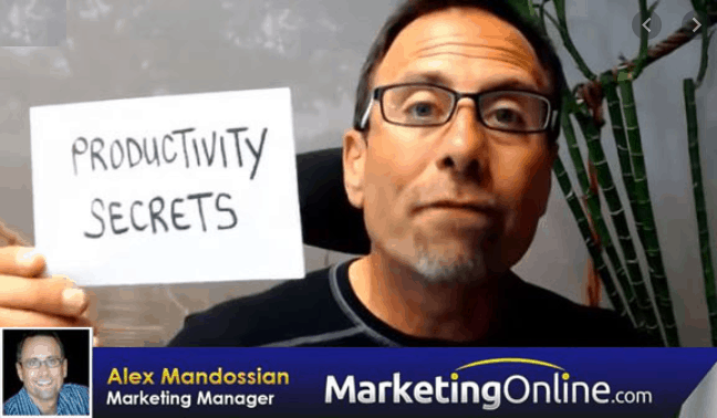 Alex Mandossian - Productivity Secrets