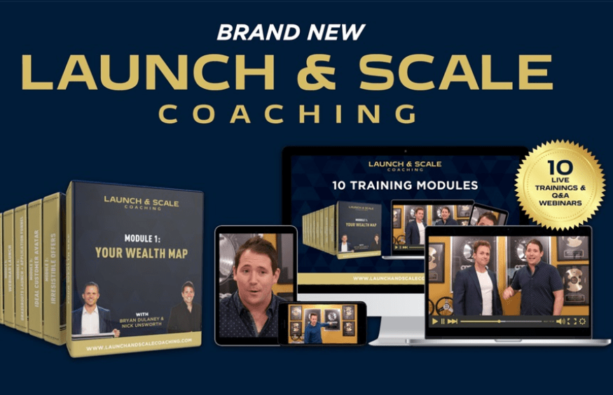 Bryan Dulaney & Nick Unsworth - The Launch & Scale Coaching