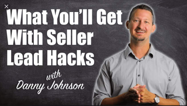 Danny Johnson - Seller Lead Hacks