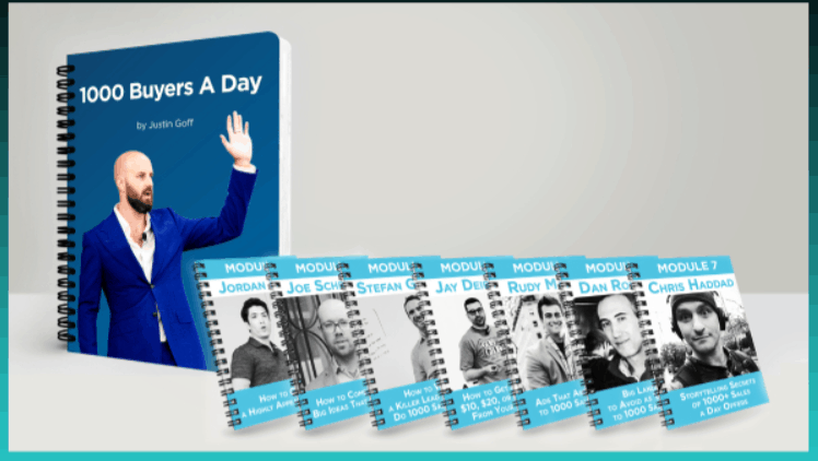 Justin Goff – Marketing Letter 1000 Buyers a Day