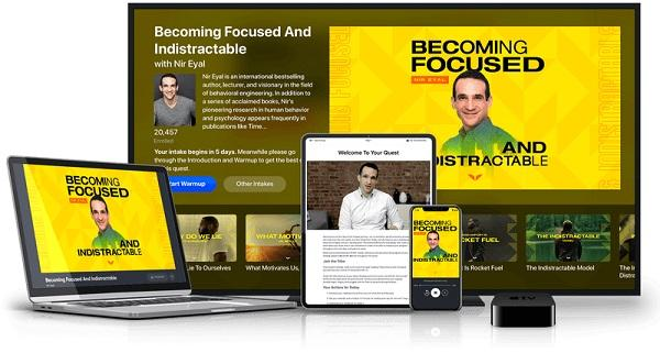 MindValley - Becoming Focused & Indistractable