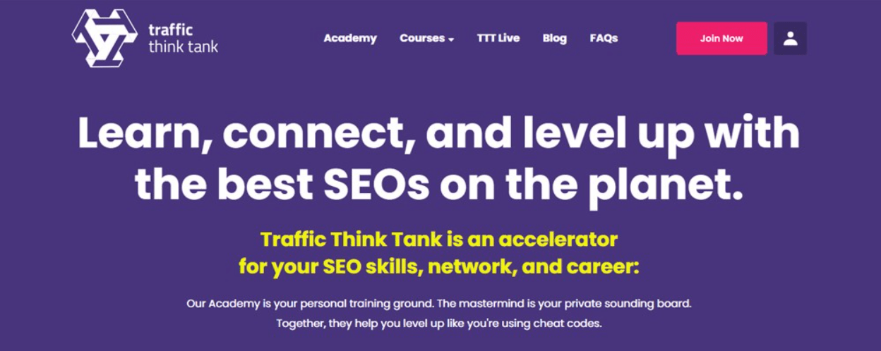 Traffic Think Tank SEO Courses