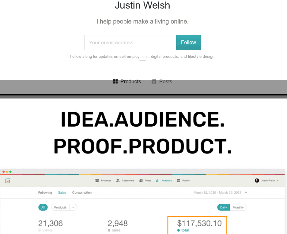 Justin Welsh - Idea Audience Proof Product -The Side Income Playbook.torrent