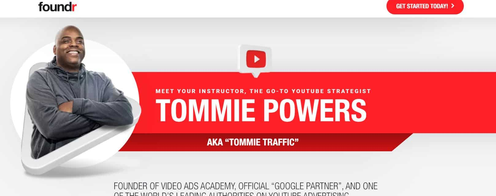 Tommie Powers - How to Master Youtube Ads (Foundr)