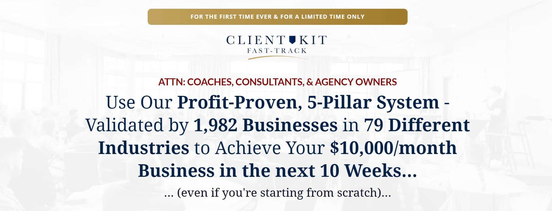 Traffic and Funnels - Client Kit Fast-Track